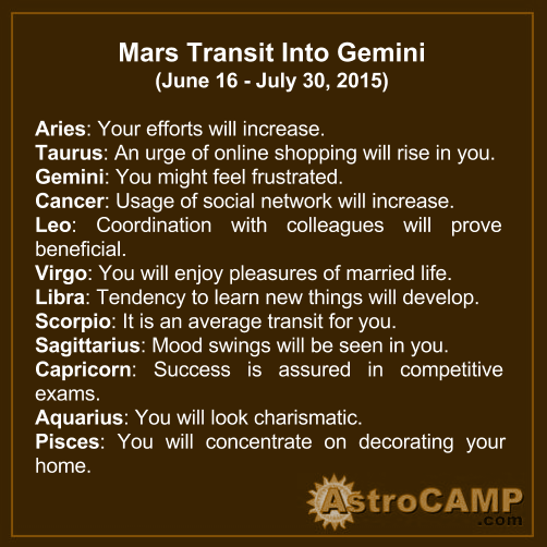 gemini astrocamp horoscope