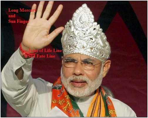 Narendra Modi Palm Reading & Numerology Analysis
