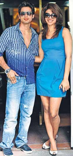 priyanka chopra and shahid kapoor dating