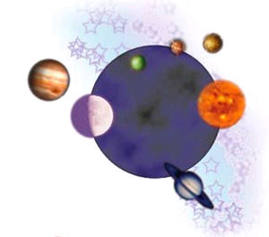 Western Astrology, Vedic Astrology