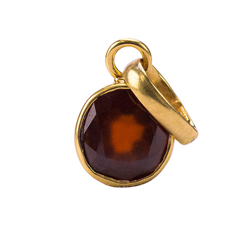 Hessonite / Gomed Pendant