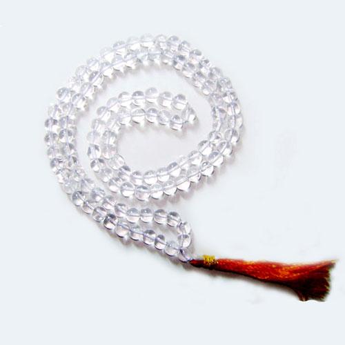 Sphatik Mala (108 beads)