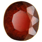 Hessonite  Gomed (3 Carat) - Lab Certified