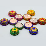 Decorative T-Lights (Diwali Diya) - Set of 6 Pieces