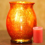 Decorative T-Light Candle Holder (Diwali Lights)