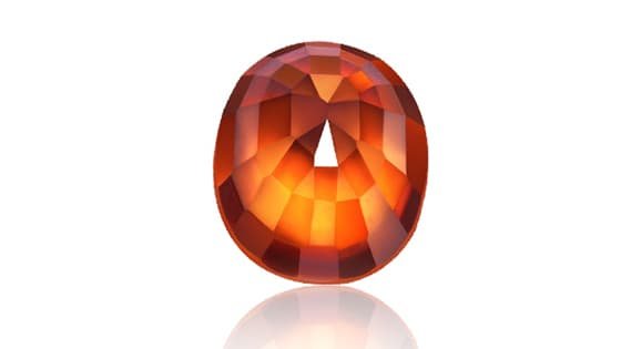 Hessonite [Grade 3]