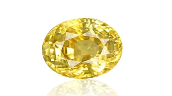 Premium Yellow Sapphire / Pukhraj [Lab Certified]