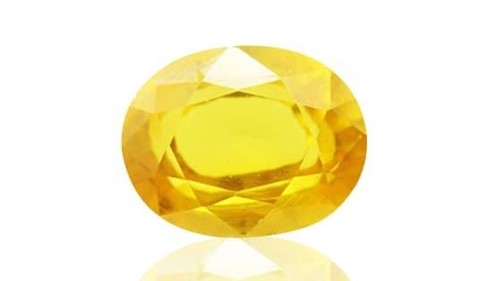 Yellow Sapphire / Pukhraj [Lab Certified]