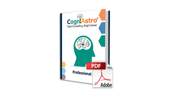 CogniAstro Career Counselling Report (Professionals)