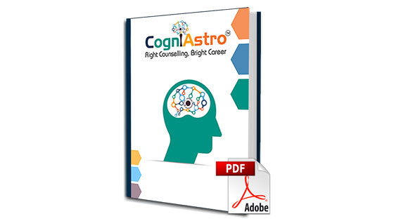 CogniAstro Career Counselling Report (Up To Grade 10)
